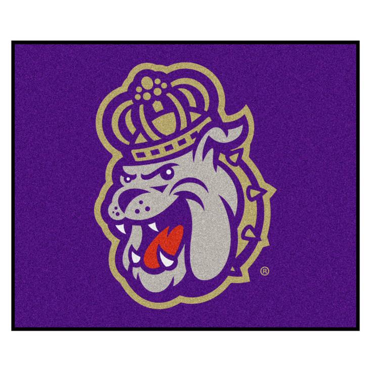 "59.5"" x 71"" James Madison University Purple Tailgater Mat"