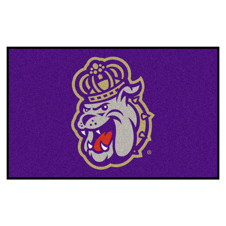 "59.5"" x 94.5"" James Madison University Purple Rectangle Ulti Mat"