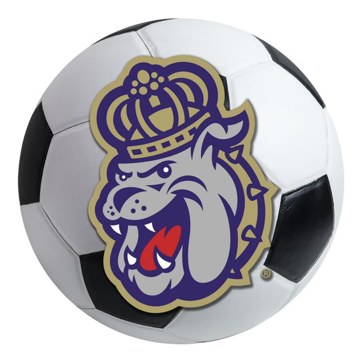 "27"" James Madison University Soccer Ball Round Mat"