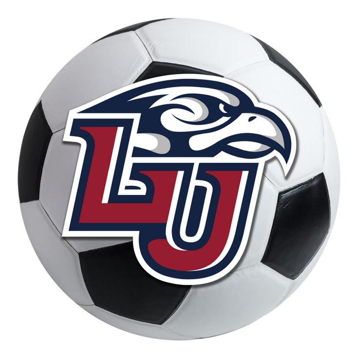 "27"" Liberty University Soccer Ball Round Mat"