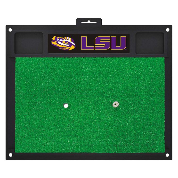 """20"""" x 17"""" Louisiana State University Golf Hitting Mat"""