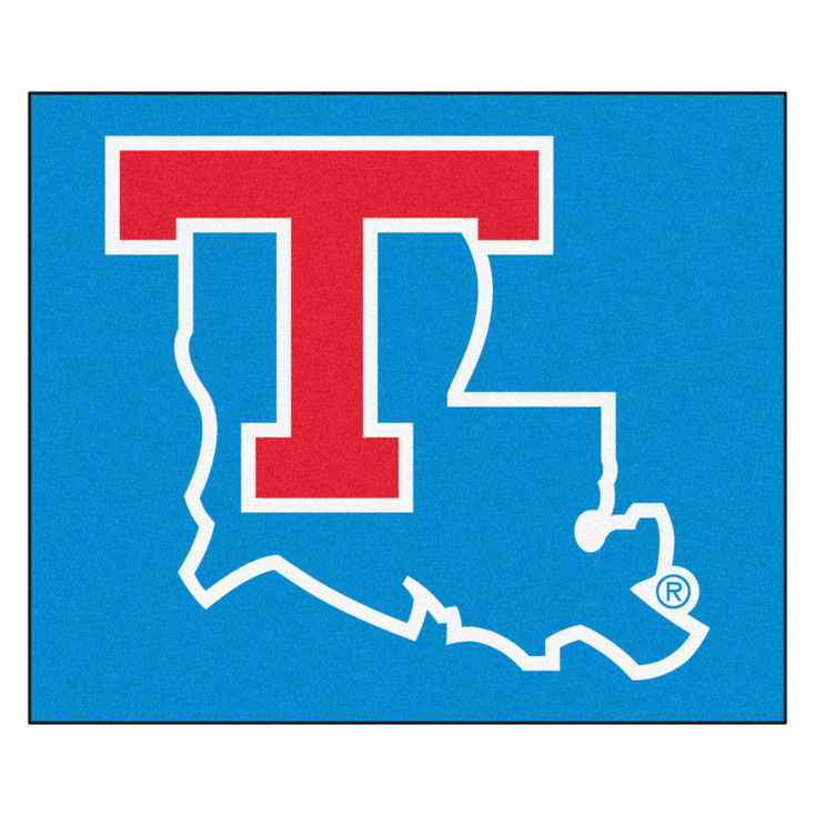 "59.5"" x 71"" Louisiana Tech University Blue Tailgater Mat"