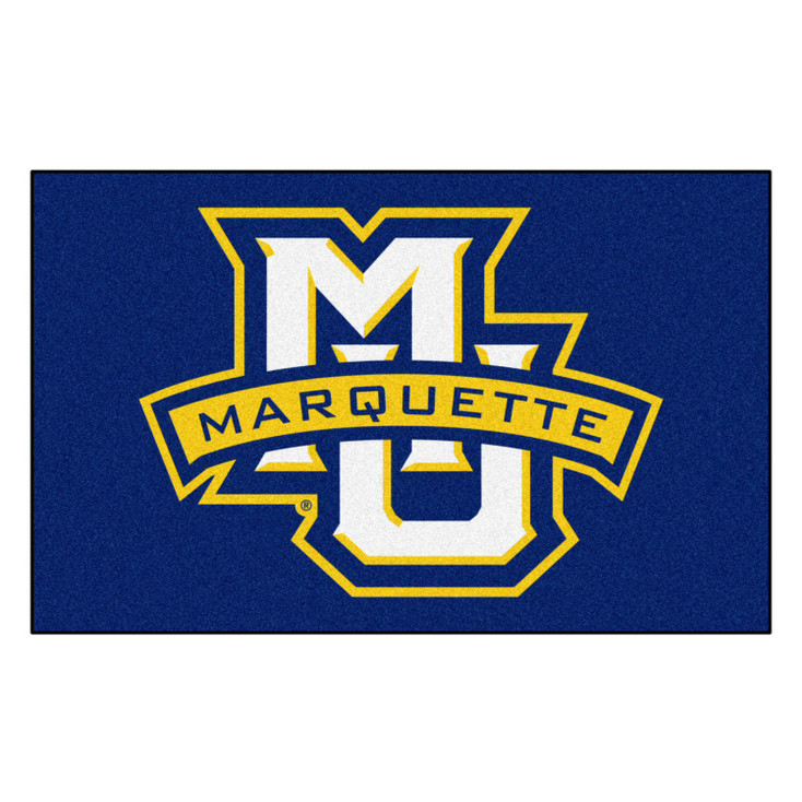 "59.5"" x 94.5"" Marquette University Navy Blue Rectangle Ulti Mat"
