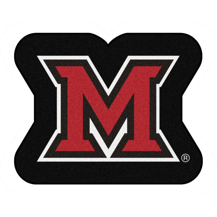 "Miami University (OH) Mascot Mat - ""Block M"" Logo"