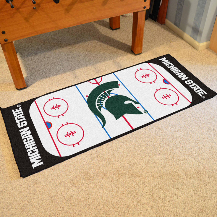 """30"""" x 72"""" Michigan State University Rink Runner Mat"""