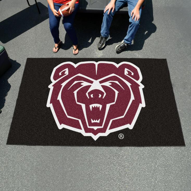 "59.5"" x 94.5"" Missouri State University Black Rectangle Ulti Mat"