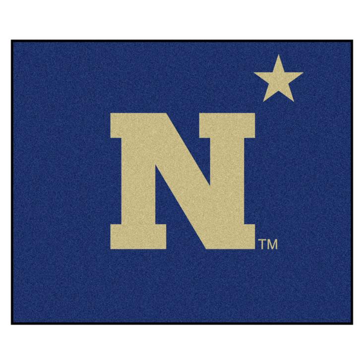 """59.5"""" x 71"""" U.S. Naval Academy Navy Blue Tailgater Mat"""
