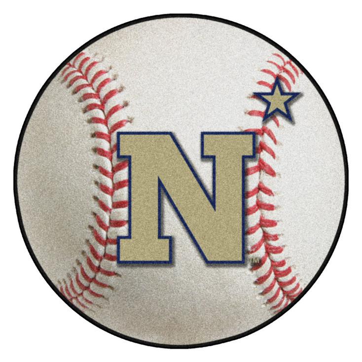 "27"" U.S. Naval Academy Baseball Style Round Mat"