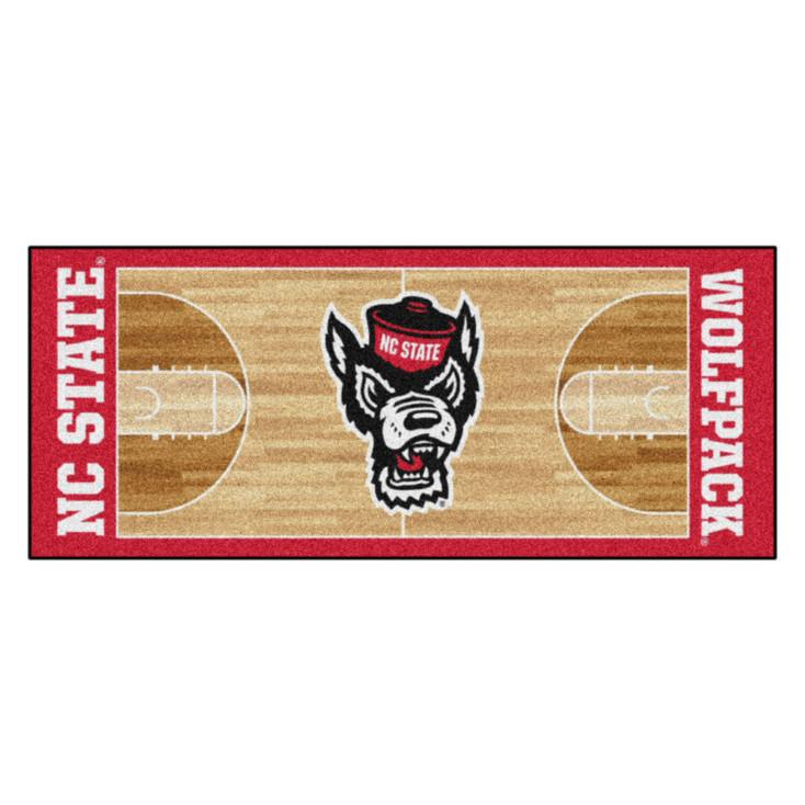 "30"" x 72"" North Carolina State University NCAA Basketball Rectangle Runner Mat"
