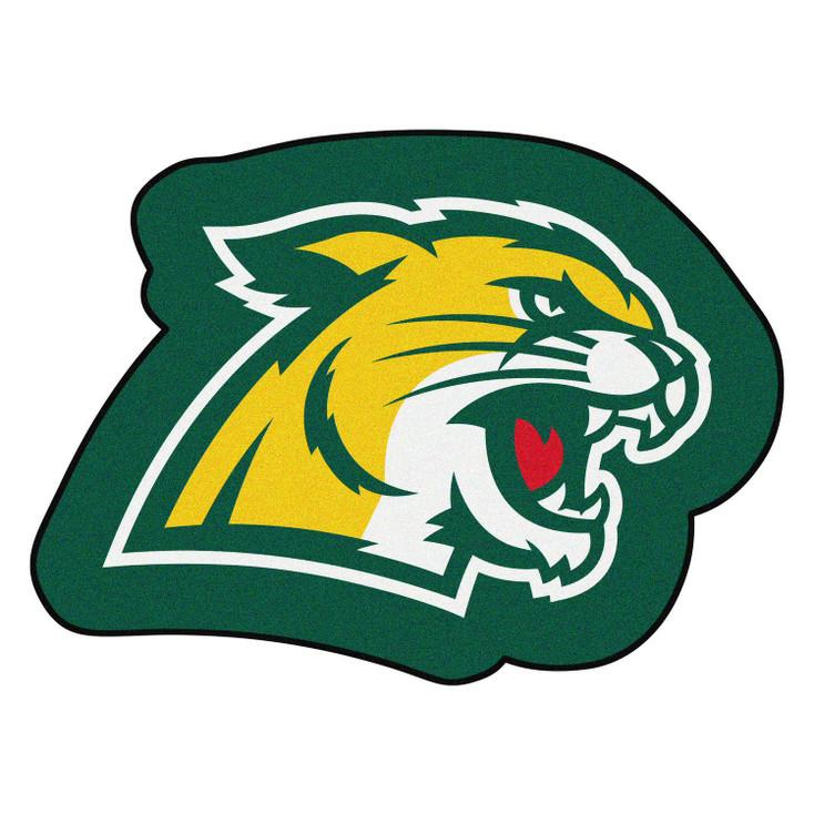 "Northern Michigan University Mascot Mat - ""Wildcat"" Logo"