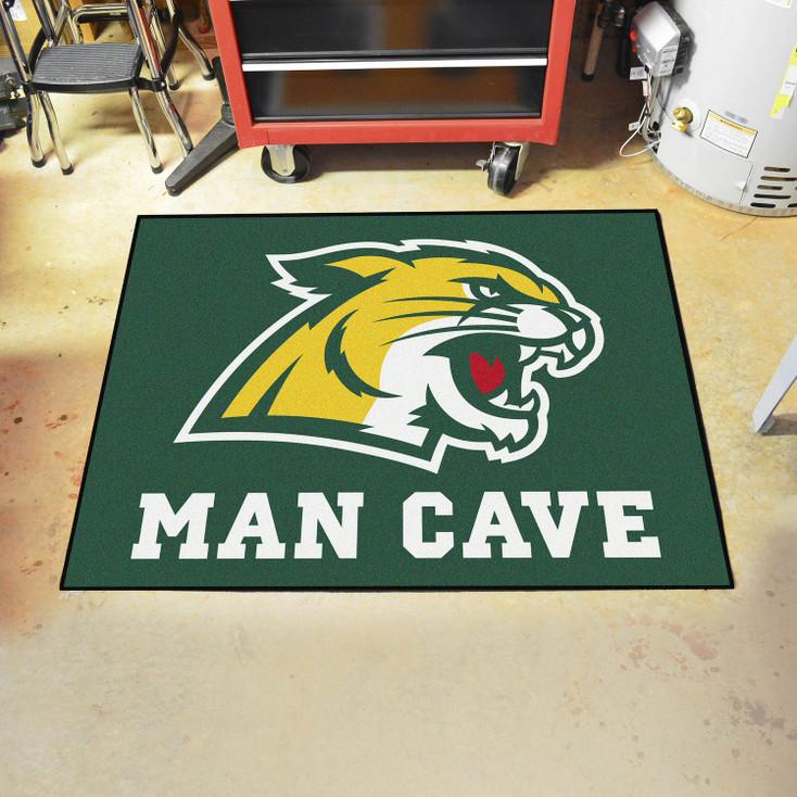 "33.75"" x 42.5"" Northern Michigan University Man Cave All-Star Green Rectangle Mat"