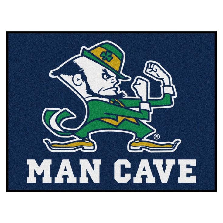 "33.75"" x 42.5"" Notre Dame Fighting Irish Man Cave All-Star Rectangle Mat"