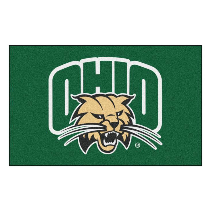 "59.5"" x 94.5"" Ohio University Green Rectangle Ulti Mat"
