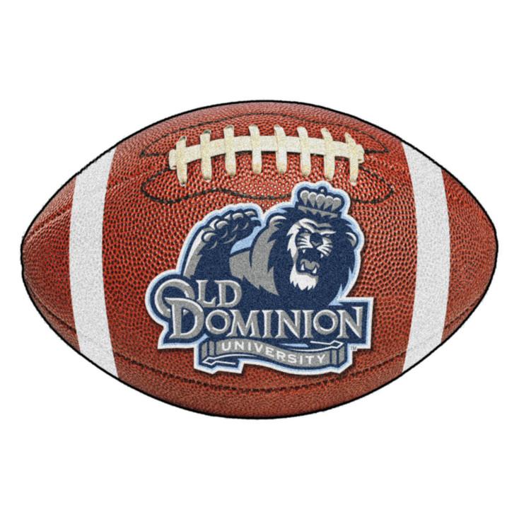 "20.5"" x 32.5"" Old Dominion University Football Shape Mat"