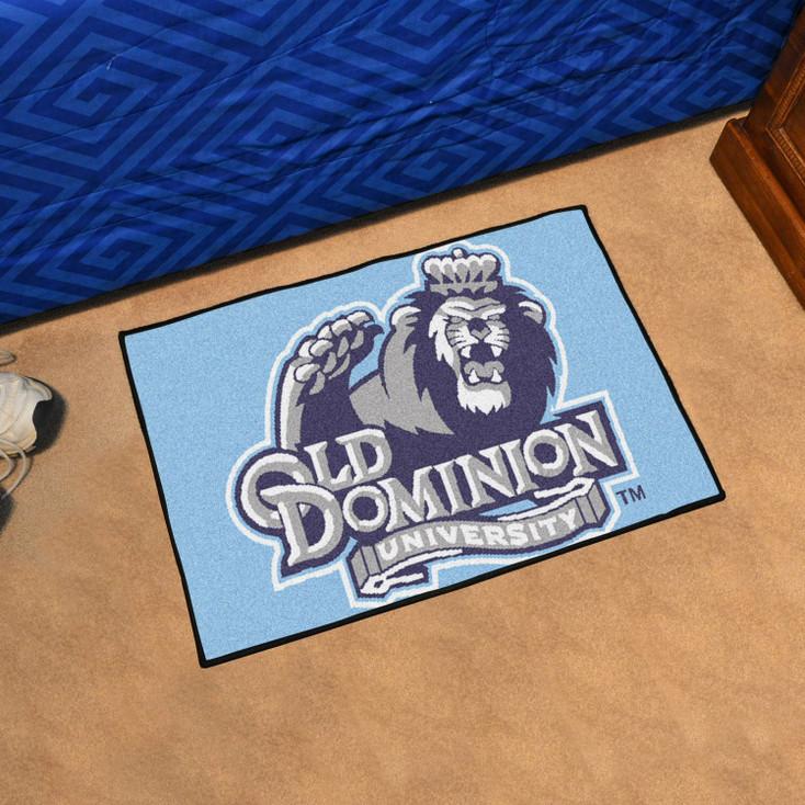 "19"" x 30"" Old Dominion University Blue Rectangle Starter Mat"