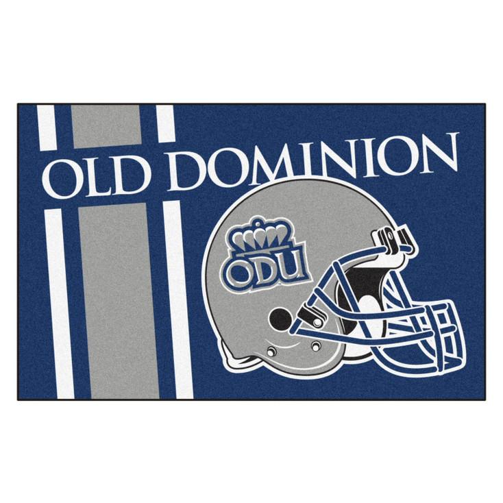 "19"" x 30"" Old Dominion University Uniform Blue Rectangle Starter Mat"