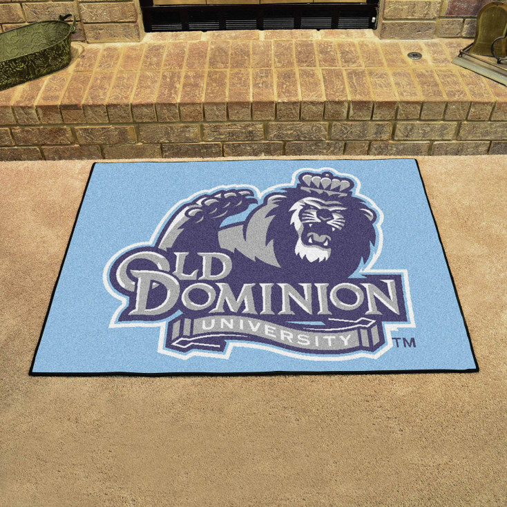 """33.75"""" x 42.5"""" Old Dominion University All Star Blue Rectangle Mat"""