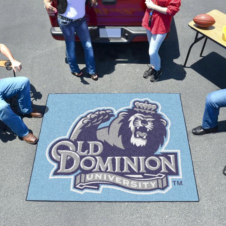 "59.5"" x 71"" Old Dominion University Blue Tailgater Mat"