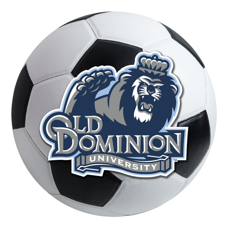 """27"""" Old Dominion University Soccer Ball Round Mat"""