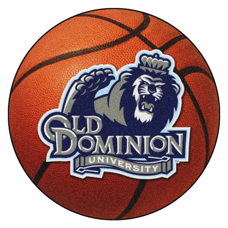 "27"" Old Dominion University Basketball Style Round Mat"