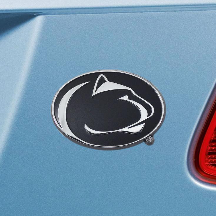 Penn State Chrome Emblem, Set of 2