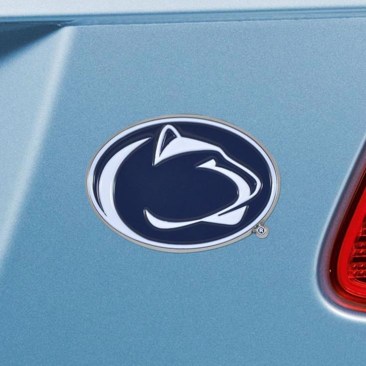 Penn State Blue Color Emblem, Set of 2