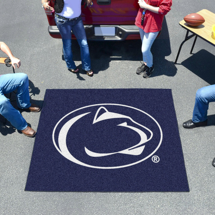 "59.5"" x 71"" Penn State Blue Tailgater Mat"