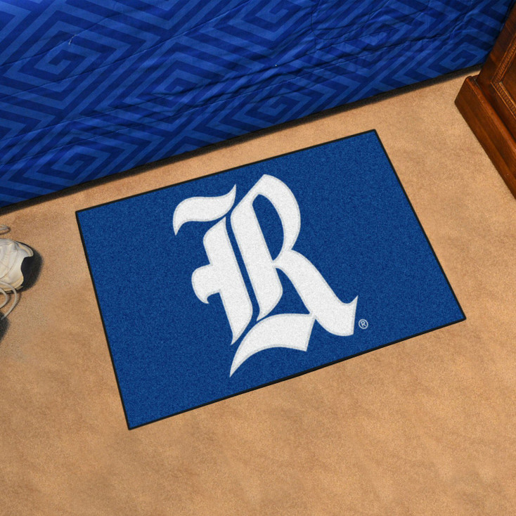 "19"" x 30"" Rice University Blue Rectangle Starter Mat"