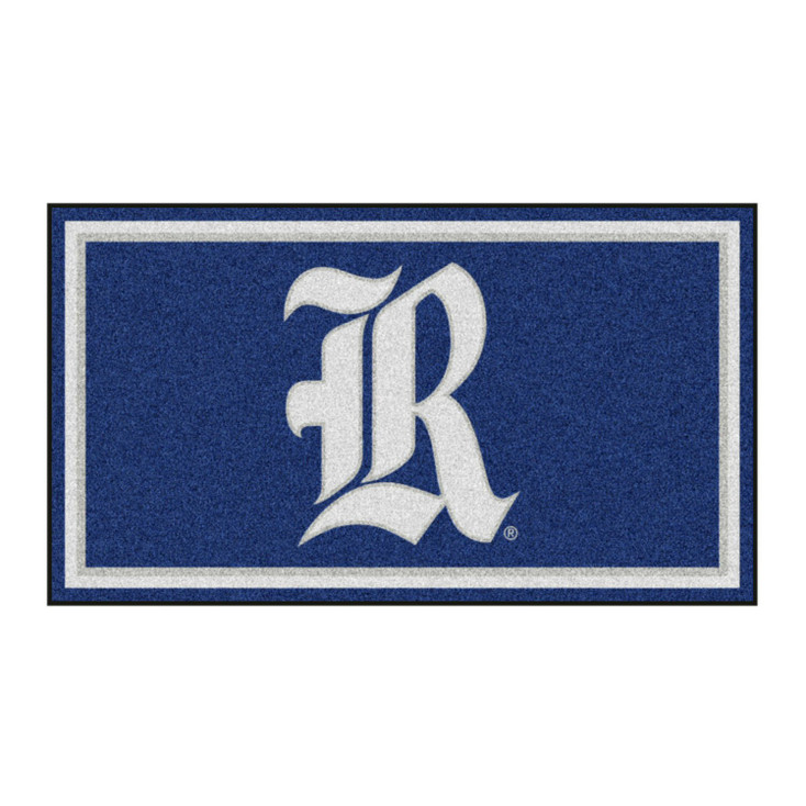 3' x 5' Rice University Blue Rectangle Rug