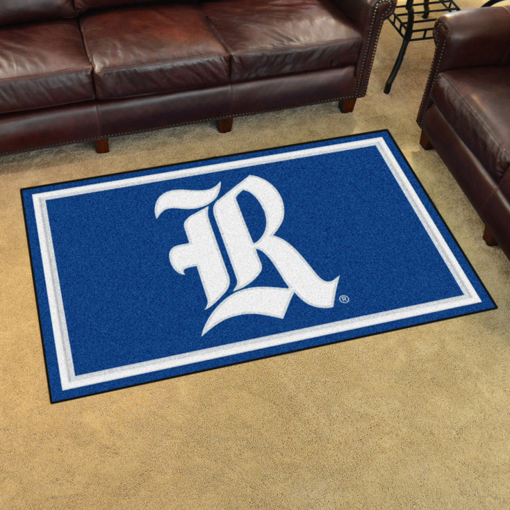 4' x 6' Rice University Blue Rectangle Rug