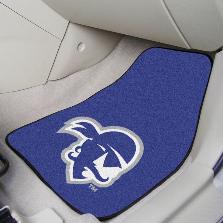 Seton Hall University Blue Carpet Car Mat, Set of 2