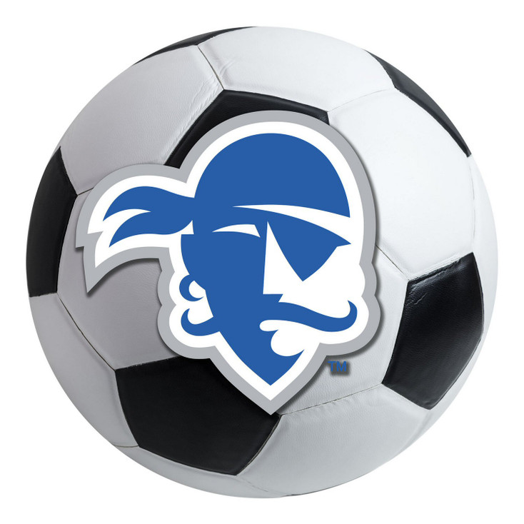 "27"" Seton Hall University Soccer Ball Round Mat"