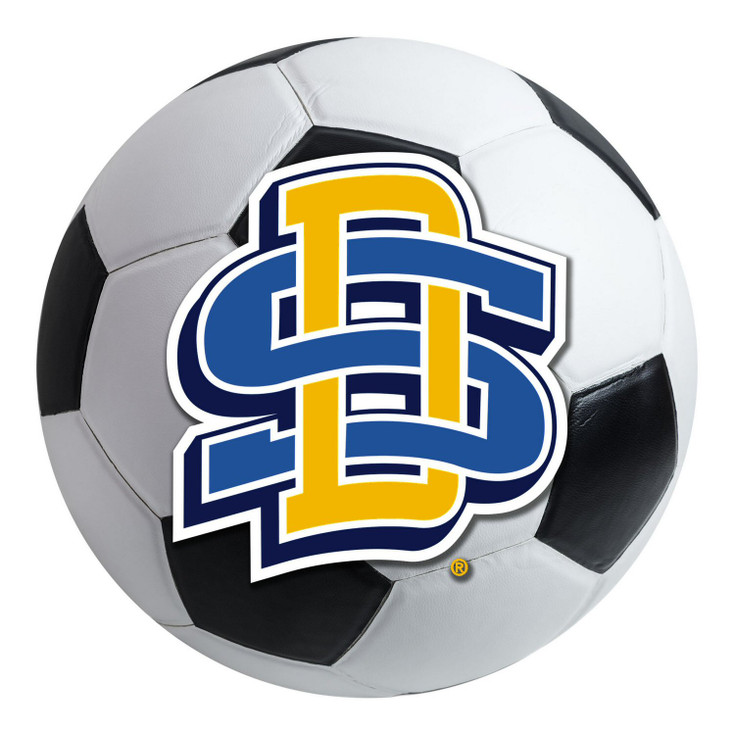 "27"" South Dakota State University Soccer Ball Round Mat"