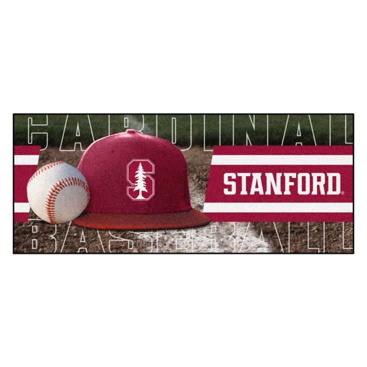 """30"""" x 72"""" Stanford Baseball Style Rectangle Runner Mat"""