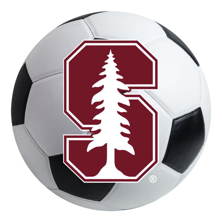 "27"" Stanford University Soccer Ball Round Mat"