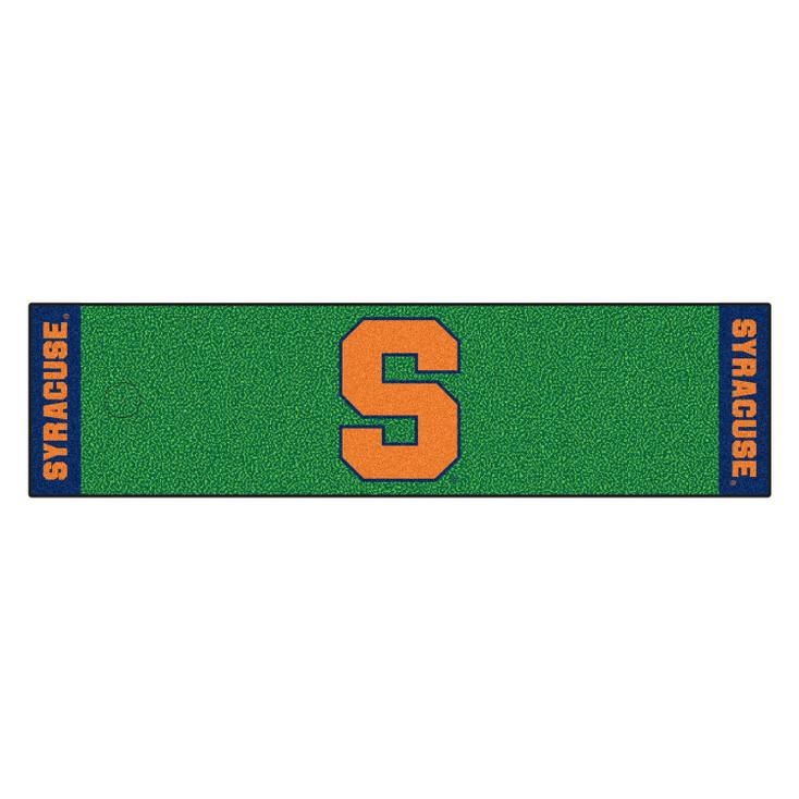 "18"" x 72"" Syracuse University Putting Green Runner Mat"