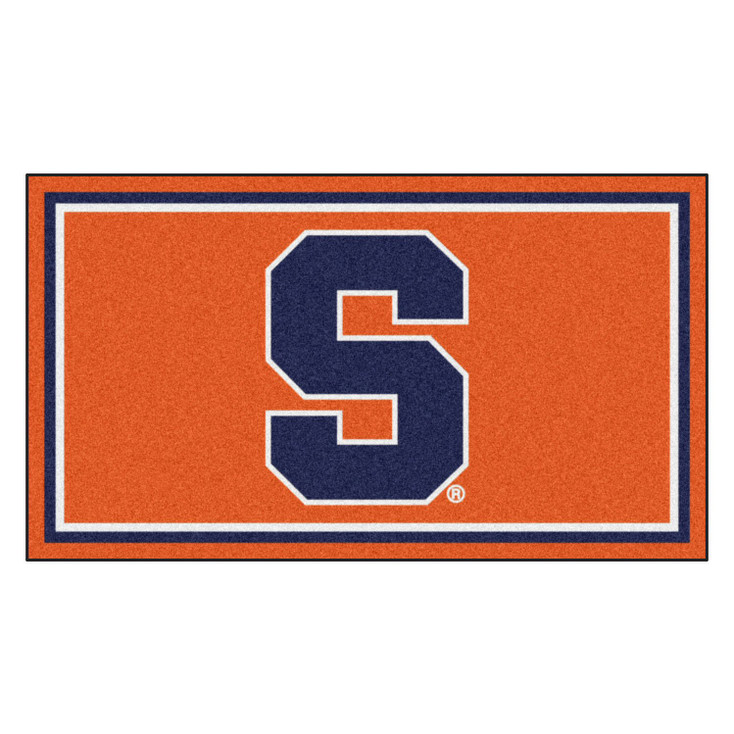 3' x 5' Syracuse University Orange Rectangle Rug