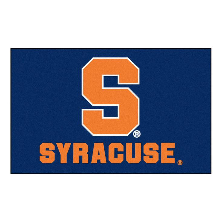 "59.5"" x 94.5"" Syracuse University Blue Rectangle Ulti Mat"