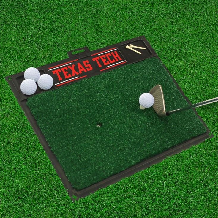 """20"""" x 17"""" Texas Tech University Golf Hitting Mat"""