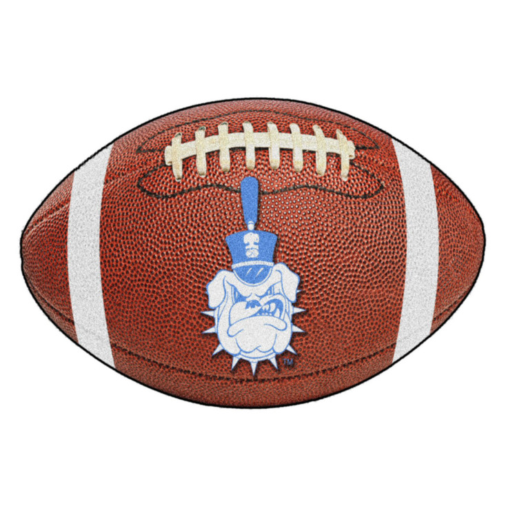 "20.5"" x 32.5"" The Citadel Football Shape Mat"
