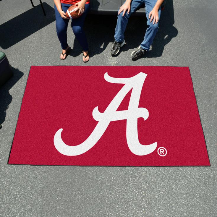 "59.5"" x 94.5"" University of Alabama Red Rectangle Ulti Mat"