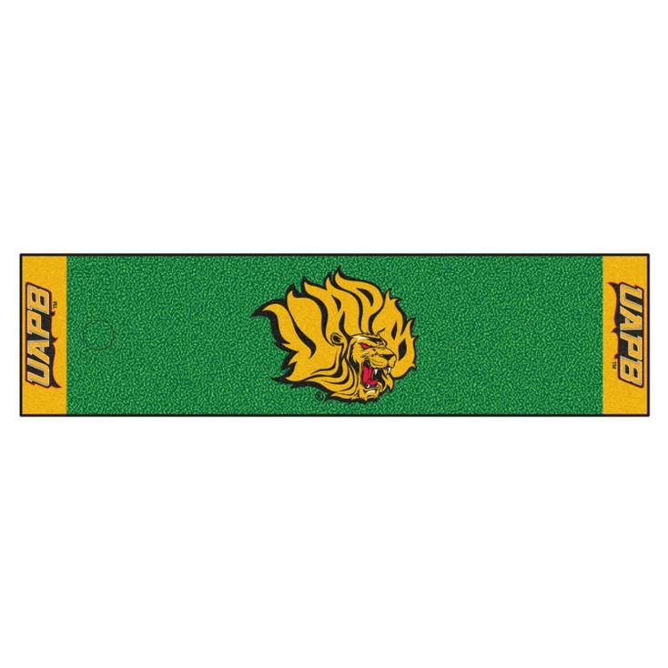 """18"""" x 72"""" University of Arkansas at Pine Bluff Putting Green Runner Mat"""
