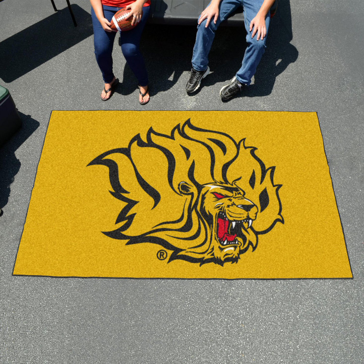 "59.5"" x 94.5"" University of Arkansas at Pine Bluff Yellow Rectangle Ulti Mat"