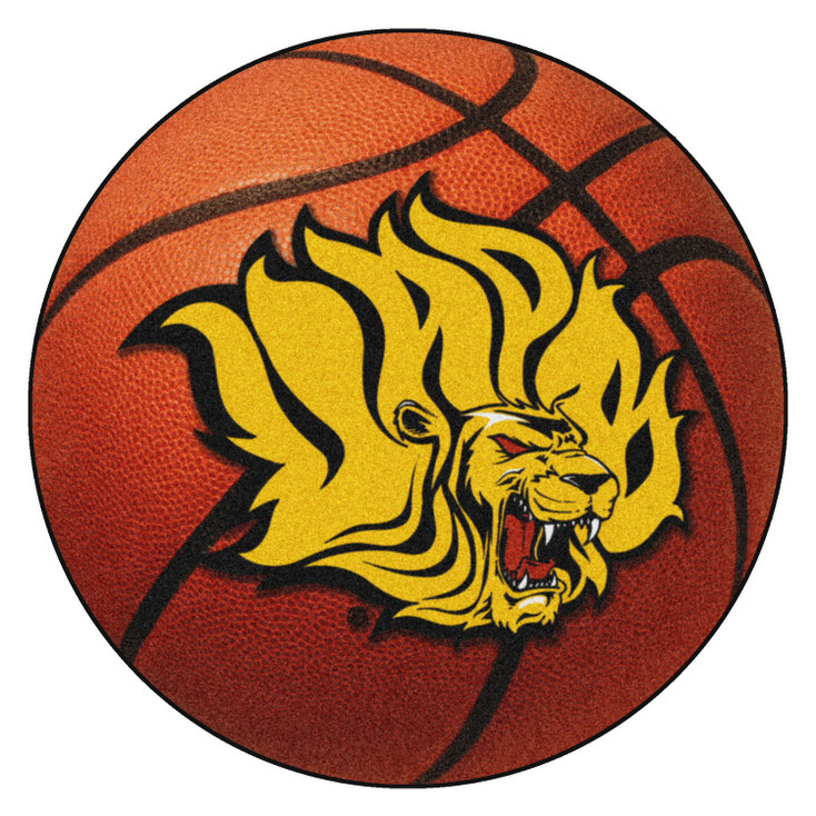 "27"" University of Arkansas at Pine Bluff Basketball Style Round Mat"