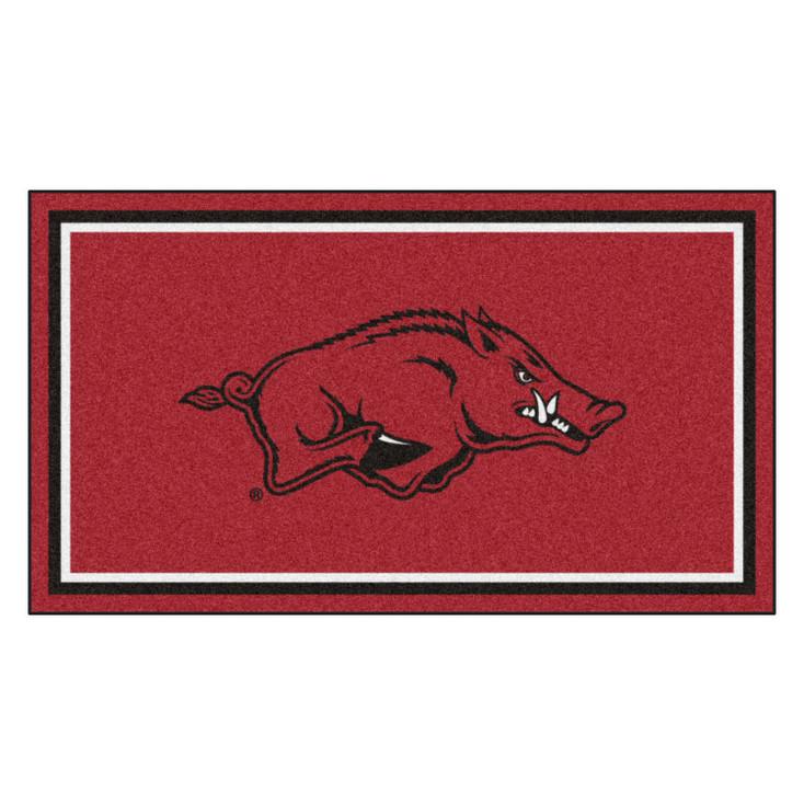 3' x 5' University of Arkansas Red Rectangle Rug