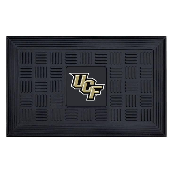 "19.5"" x 31.25"" University of Central Florida Medallion Rectangle Door Mat"