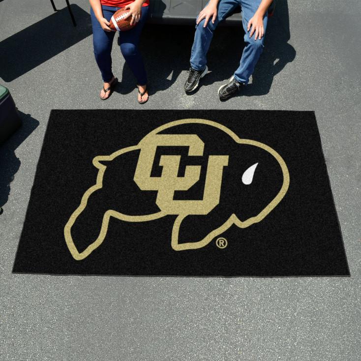 "59.5"" x 94.5"" University of Colorado Black Rectangle Ulti Mat"