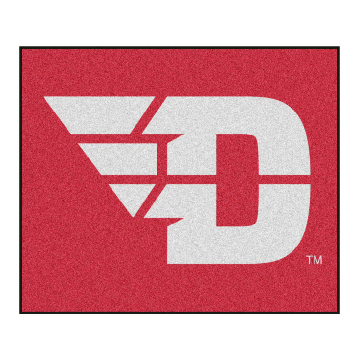 "59.5"" x 71"" University of Dayton Red Tailgater Mat"