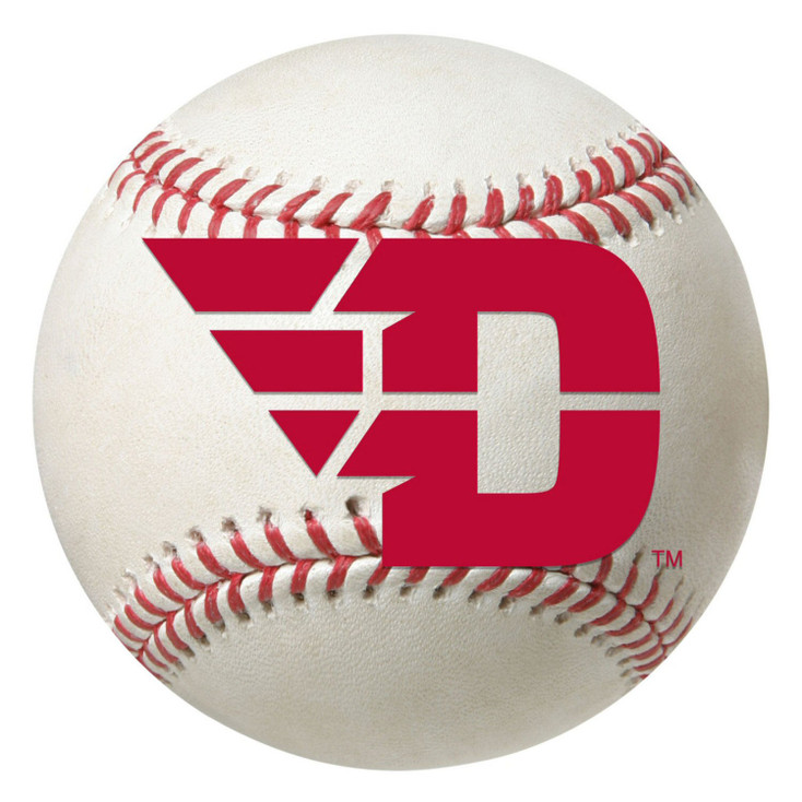 "27"" University of Dayton Baseball Style Round Mat"