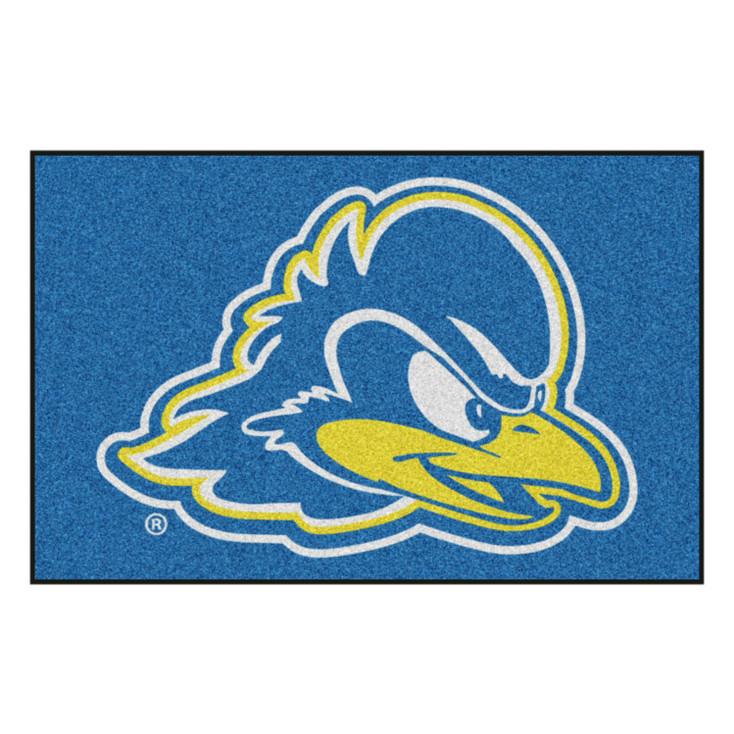 """19"""" x 30"""" University of Delaware Blue Rectangle Starter Mat"""